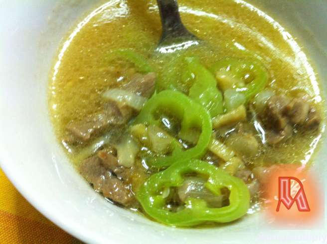 BEEF SKIN SOUP