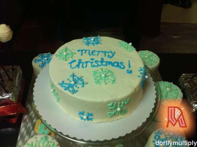 OUR CHRISTMAS CAKE