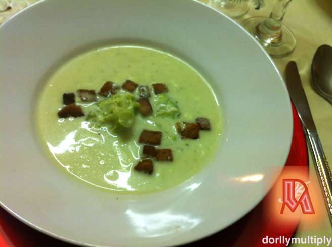 My BROCCOLI CREAM SOUP
