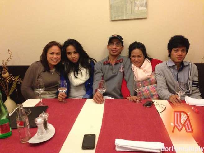 Dinner at der Ringsmuth Restaurant