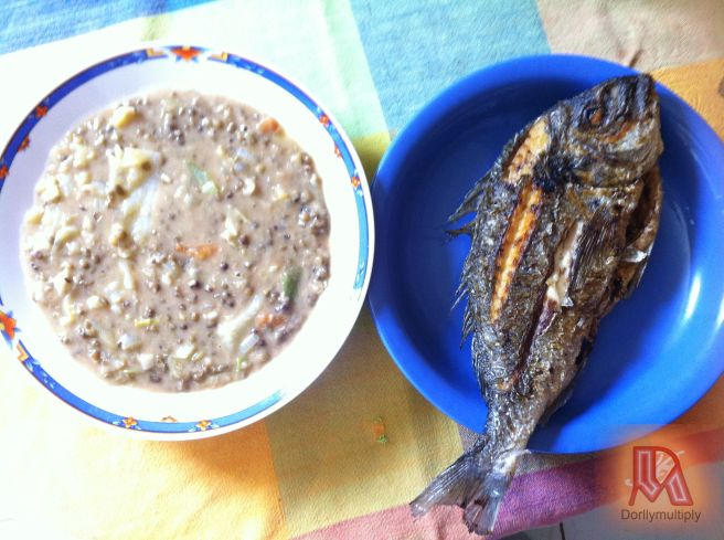 MONGO and FRIED ORATA (SEA BREAM)