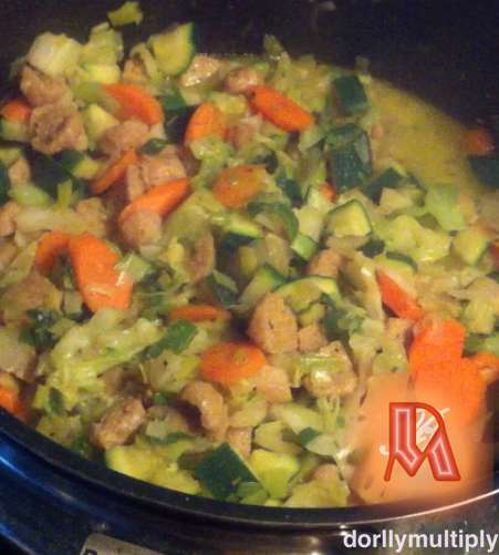 VEGETABLES WITH HERBS AND SPICES