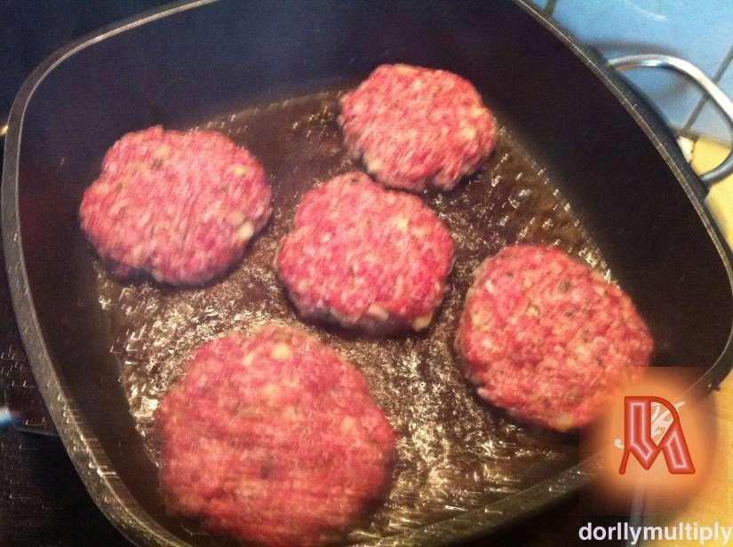 My Pan-Fried Hamburger for Viand