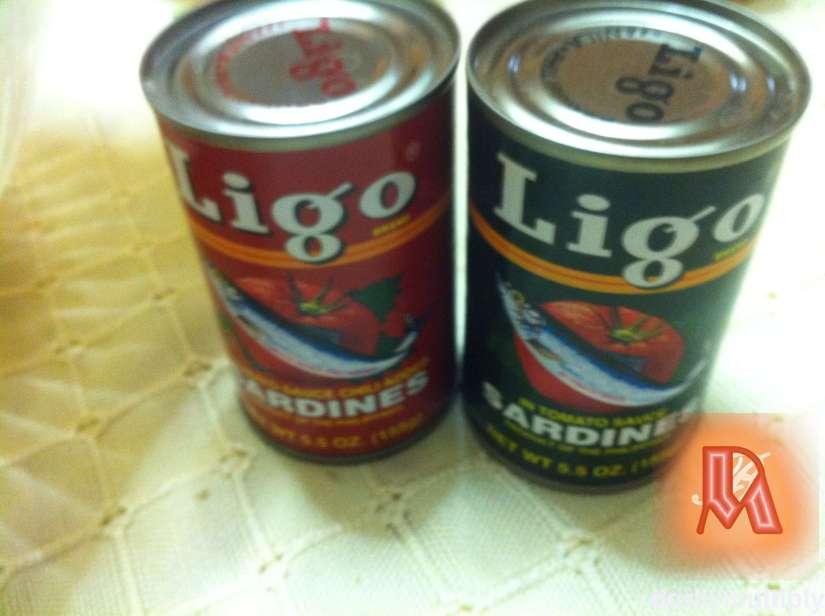LIGO SARDINES - Red and Green