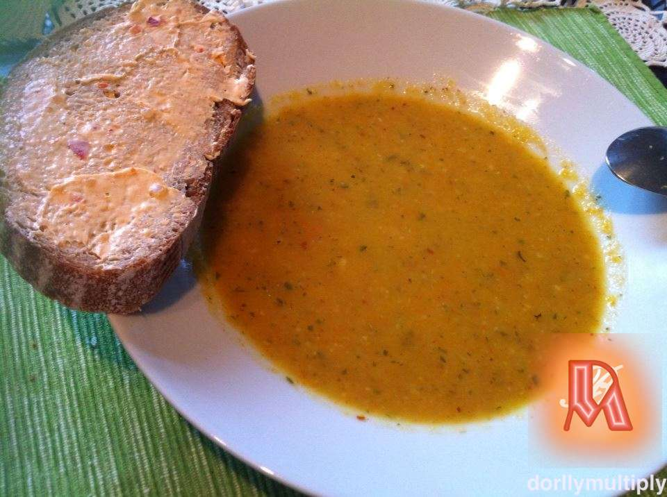 My CARROT SOUP