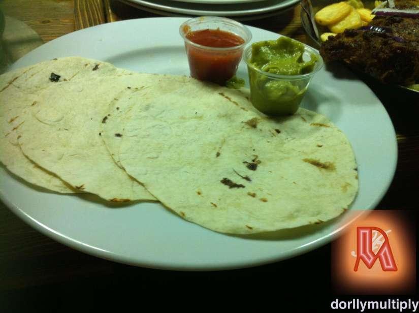 Tortillas from Saloon Donauplex