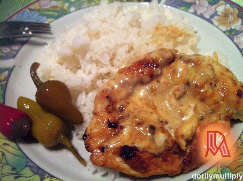 Chicken breast fillet for dinner