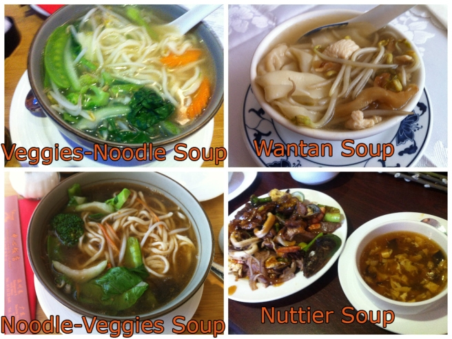 VEGGIES and NOODLE SOUP
