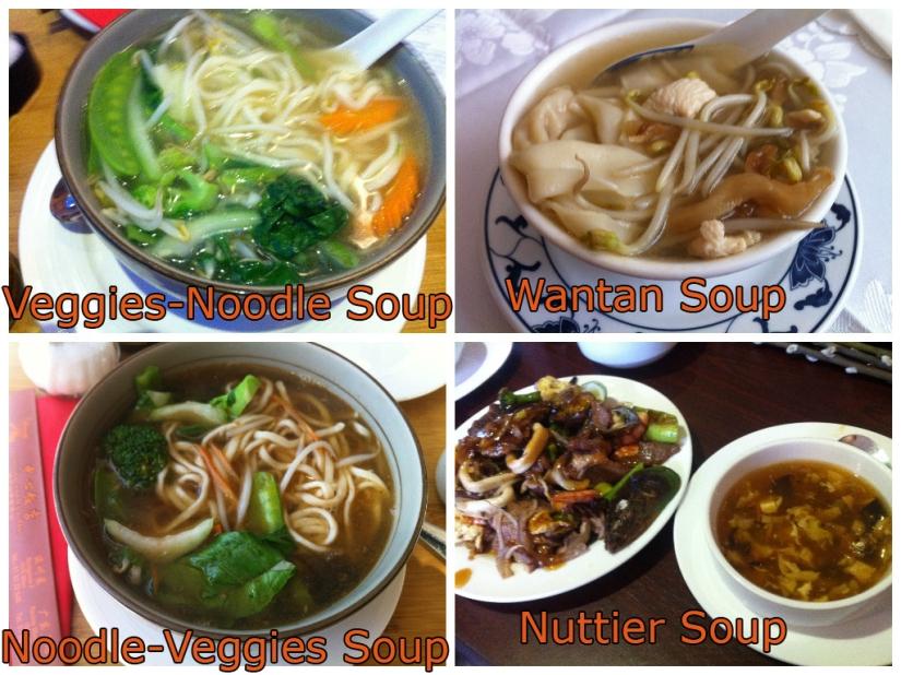VEGGIES and NOODLE SOUP