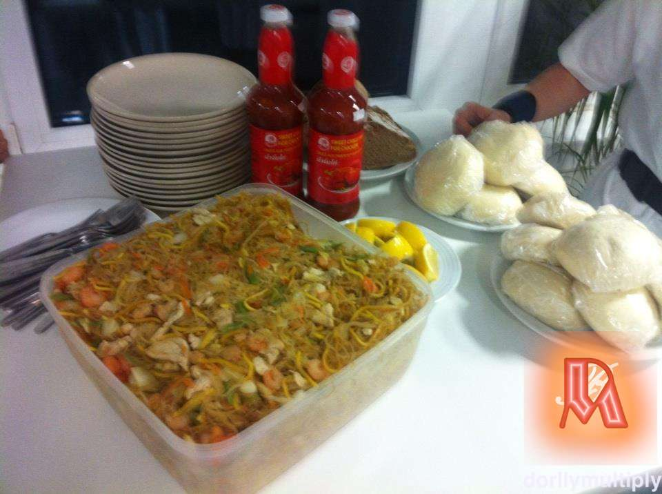 My SOTANGHON with SHRIMPS and CHICKEN BREAST