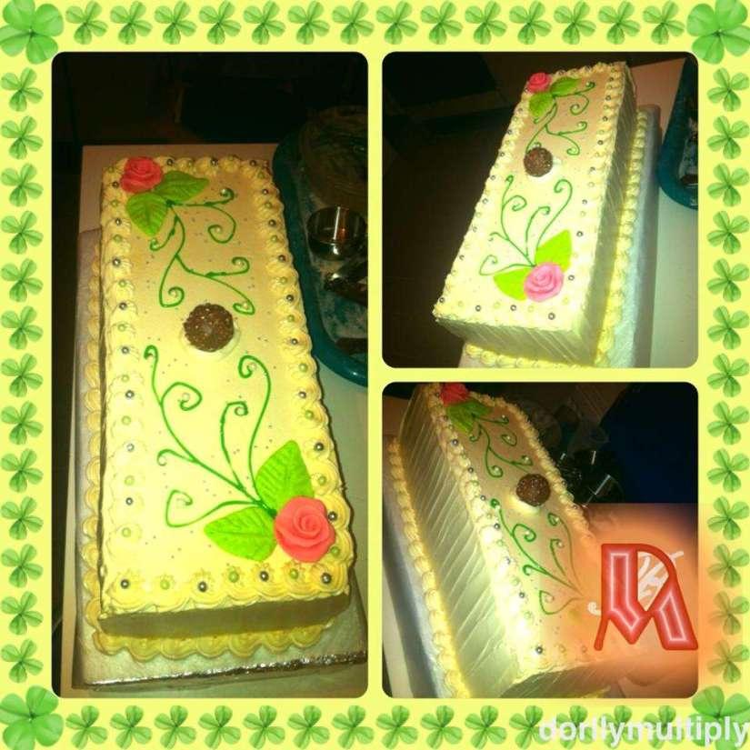 MOCHA CAKE, My FOURTH BIRTHDAY CAKE