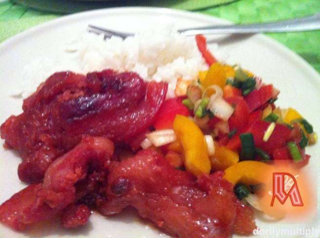 HUBBY'S TOCINO and BELL PEPPER SALAD