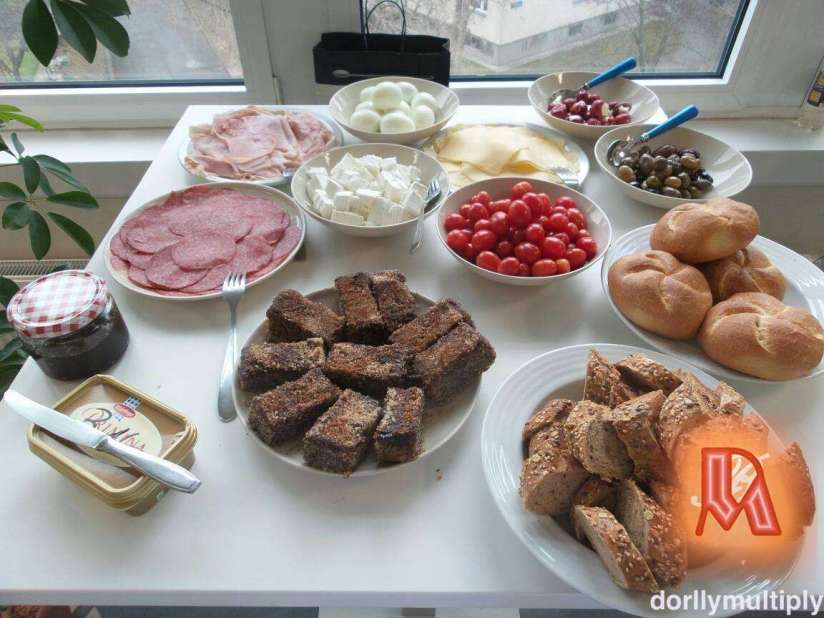 Breakfast for my colleagues