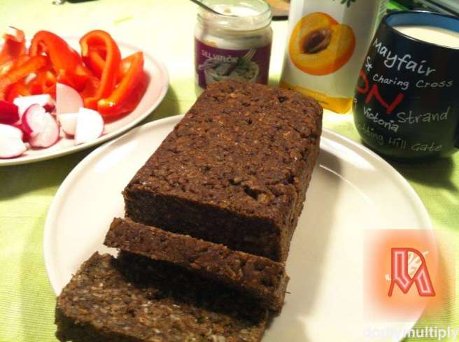 Baked Corn Brown Bread