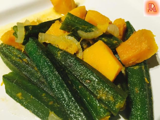 Okra and squash