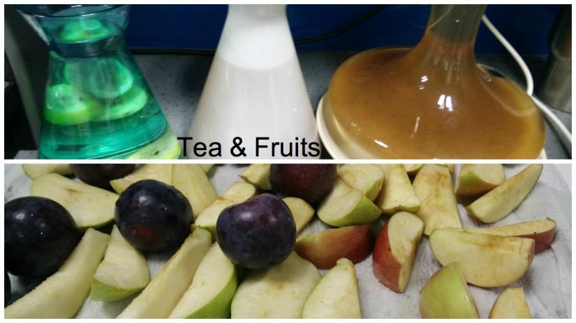 Tea & Fruits